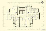 恒大名都1室1厅1卫51--55平方米户型图