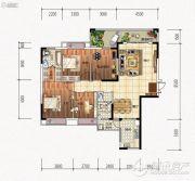 元琦林居4室2厅2卫0平方米户型图