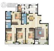 新加坡尚锦城5室2厅3卫160平方米户型图