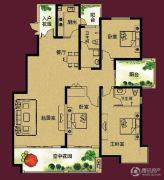 正诚阳光花墅3室2厅2卫158--187平方米户型图