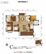 新华联・梦想城6室2厅2卫0平方米户型图