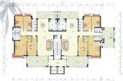 榕东新城4室2厅3卫0平方米户型图