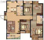 建屋・哈佛公园4室2厅2卫117平方米户型图