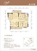 联康城4室2厅2卫142--146平方米户型图