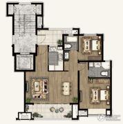融创海上桃源2室2厅2卫0平方米户型图