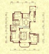 恒大名都3室2厅2卫156平方米户型图