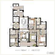 保利天悦4室2厅3卫0平方米户型图
