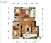 金科博翠园4室2厅0卫108平方米户型图