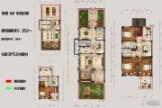 恒佳太阳城6室3厅5卫252平方米户型图