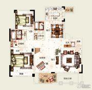 塞拉维5室2厅4卫237平方米户型图