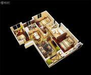 金丽园3室1厅2卫110平方米户型图