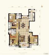 保利花园4室2厅2卫163--168平方米户型图