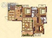 亚坤・帝景豪庭4室2厅2卫117平方米户型图