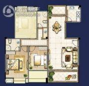 时代国际2室2厅2卫0平方米户型图