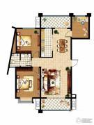 齐鲁涧桥2室2厅1卫131平方米户型图