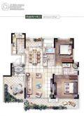 启迪协信・太古城2室2厅2卫95平方米户型图