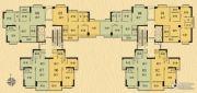 香樟美地87--117平方米户型图
