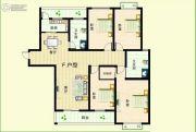 华众绿馨花苑4室2厅2卫169平方米户型图