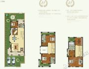恒达北海龙城5室2厅4卫295平方米户型图