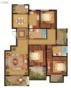 中铁逸都4室2厅2卫145--147平方米户型图