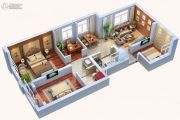 中天锦庭4室2厅1卫92平方米户型图