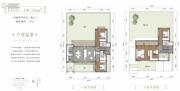 峨眉山桃李春风中式宅院4室2厅4卫190平方米户型图