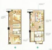 蓝天广场2室1厅1卫60--70平方米户型图