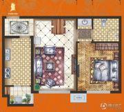 腾业・国王镇1室1厅1卫0平方米户型图