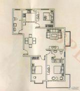 锦绣东城3室2厅2卫135平方米户型图