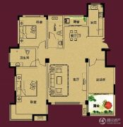 正诚阳光花墅3室2厅2卫149--155平方米户型图