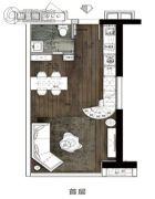 南浦时代0室0厅0卫60平方米户型图