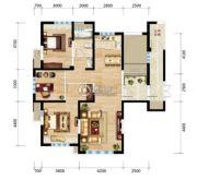 三江・尊园3室2厅1卫130平方米户型图