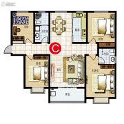 运和天成4室2厅2卫0平方米户型图