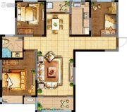 阳光100国际新城3室2厅1卫119平方米户型图