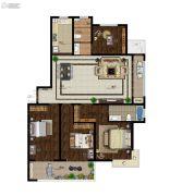 意林・国际公园4室2厅2卫182平方米户型图