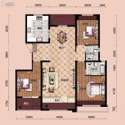宝能水岸康城3室2厅2卫135平方米户型图