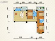 鑫隆御景3室1厅2卫0平方米户型图
