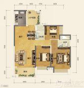 恒大金阳新世界2室2厅2卫0平方米户型图