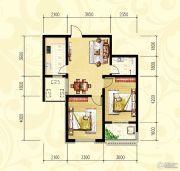 众和凤凰城2室2厅1卫0平方米户型图