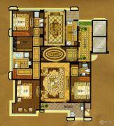 中瓯・金色海岸4室2厅3卫265平方米户型图