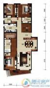 华远九都汇3室2厅3卫238平方米户型图