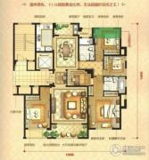 瑞鸿・中央华府5室2厅2卫168平方米户型图
