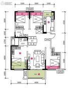 合能十里锦绣4室2厅2卫0平方米户型图