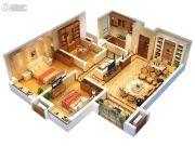 中央广场3室2厅1卫0平方米户型图