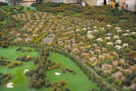 绿城玫瑰园规划图
