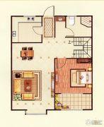 印象城・牛津花园4室2厅1卫153平方米户型图