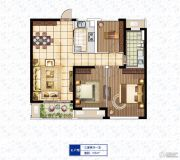 康桥溪棠3室2厅1卫0平方米户型图