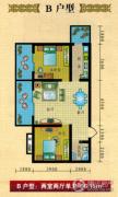 康宁汉辰大厦2室2厅1卫90--96平方米户型图