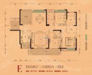 泊富君庭4室2厅3卫157--177平方米户型图