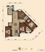 东湖湾4室2厅2卫220平方米户型图